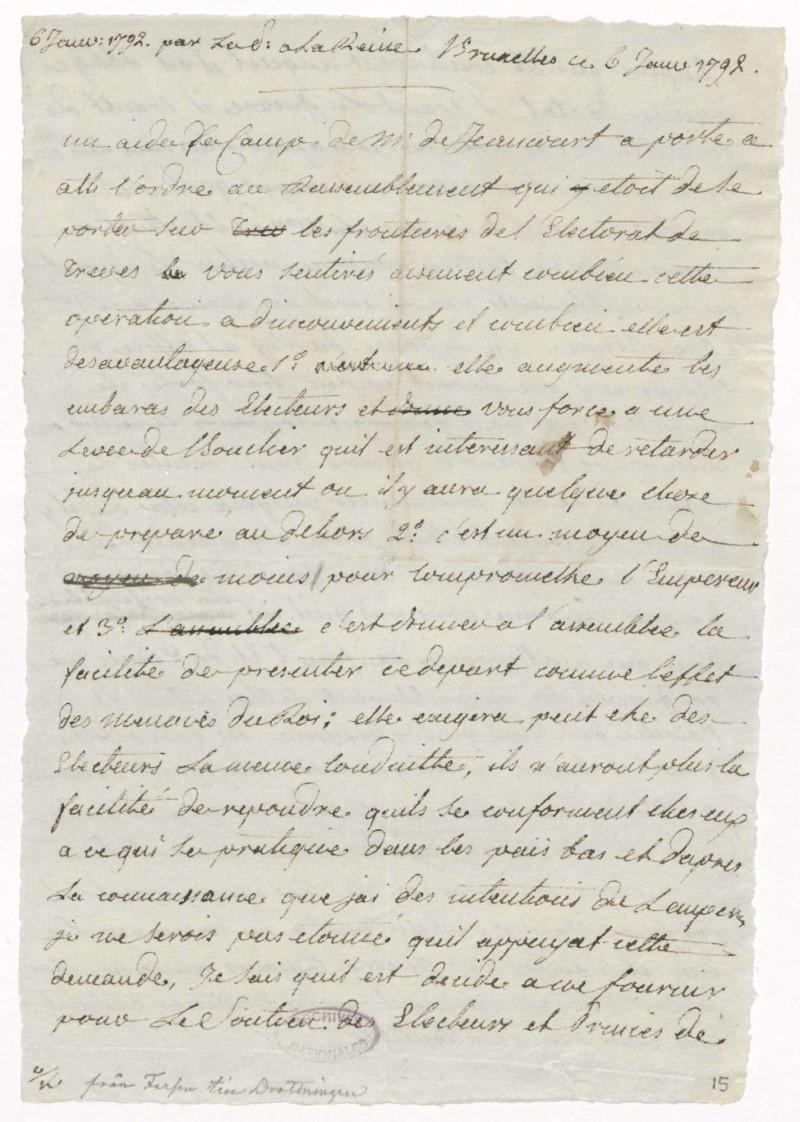 Les lettres de Fersen à Marie-Antoinette Fersen11