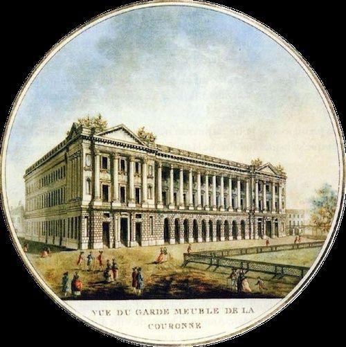 La collection de gemmes de Marie-Antoinette Garde_10