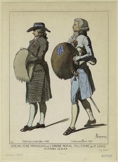 Galerie de portraits : Le manchon au XVIIIe siècle  Images10