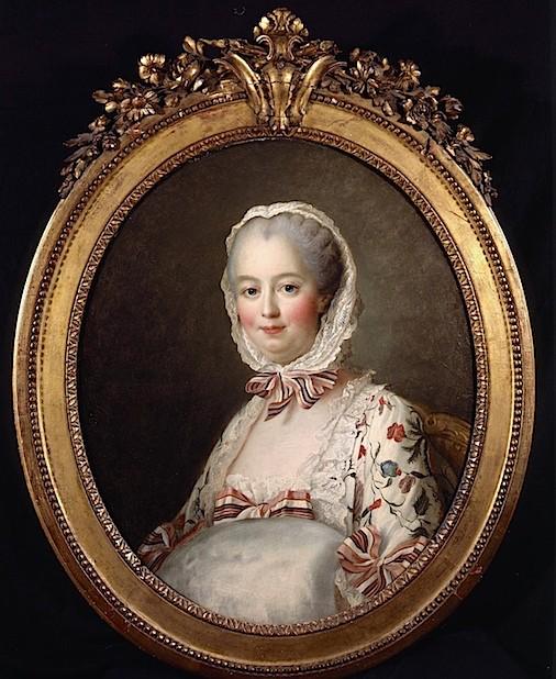 Galerie de portraits : Le manchon au XVIIIe siècle  Jeanne11