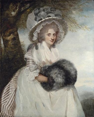 Galerie de portraits : Le manchon au XVIIIe siècle  Joshua10