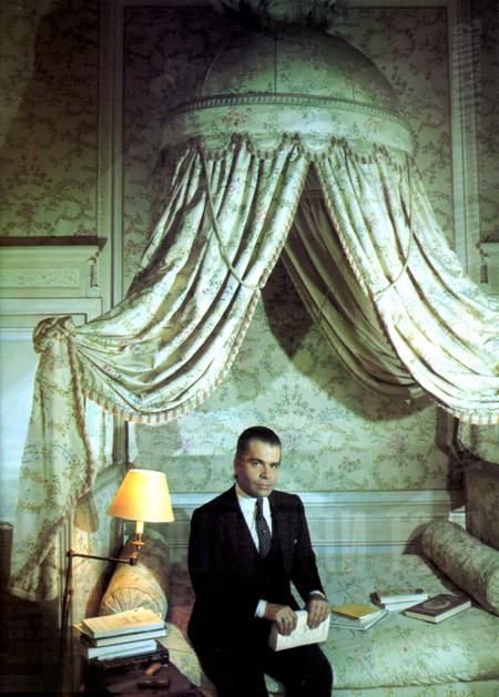 "Les collections ""XVIIIè siècle"" de Karl Lagerfeld Kl210"