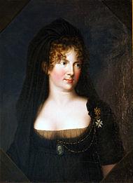 Le voyage en Europe du comte et de la comtesse du Nord : le tsarévitch Paul et son épouse. Kygelg10