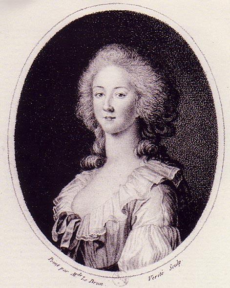 Portraits de la princesse de Lamballe (peintures, dessins, gravures) Lambal10