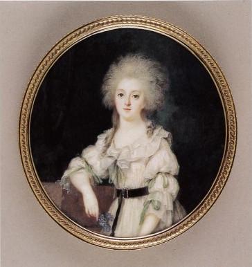 Portraits de Marie-Antoinette et Louis XVI, par Louis-Marie Sicard, dit Sicardi ou Sicardy Louis-10