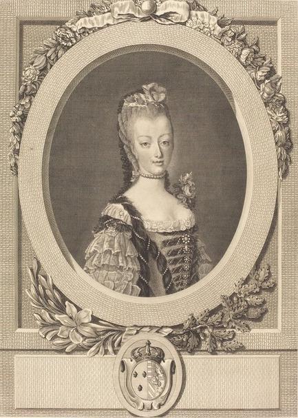 fredou - Portraits de Marie-Antoinette et de la famille royale, par Jean-Martial Frédou Louis-13