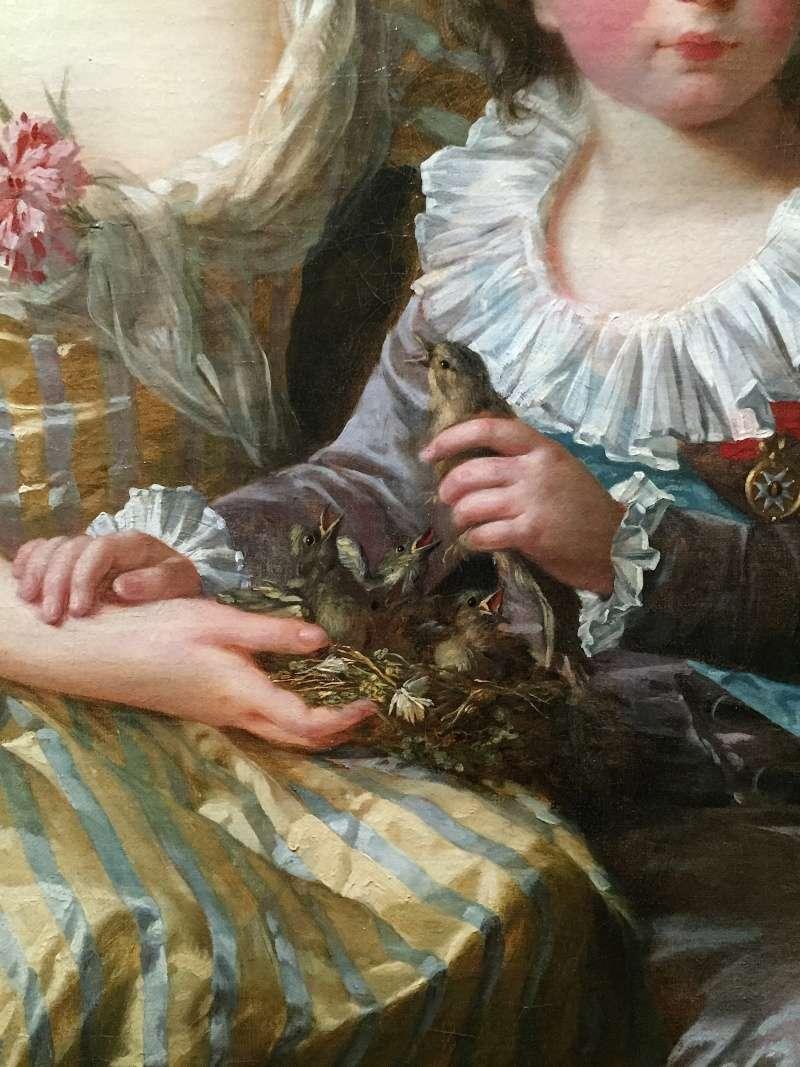 Portraits de Madame Royale et de Louis-Joseph par E. Vigée Le Brun (1784 et 1789) Louis_10