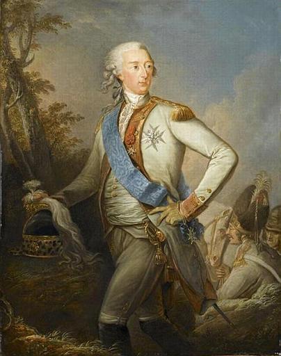 Le voyage en Europe du comte et de la comtesse du Nord : le tsarévitch Paul et son épouse. Louis_11