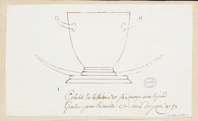 Service de Marie-Antoinette pour Rambouillet en porcelaine de Sèvres M5019010