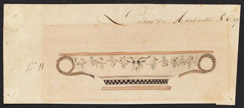Service de Marie-Antoinette pour Rambouillet en porcelaine de Sèvres M5019013