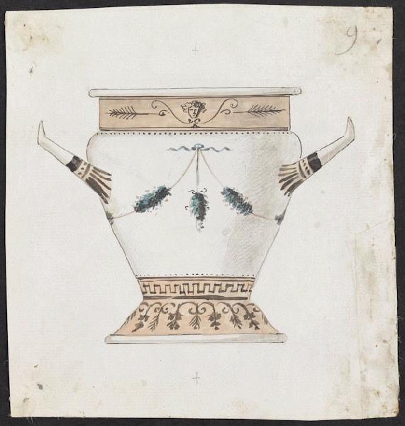 Service de Marie-Antoinette pour Rambouillet en porcelaine de Sèvres M5019017