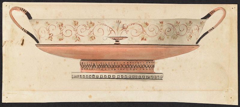 Service de Marie-Antoinette pour Rambouillet en porcelaine de Sèvres M5019018