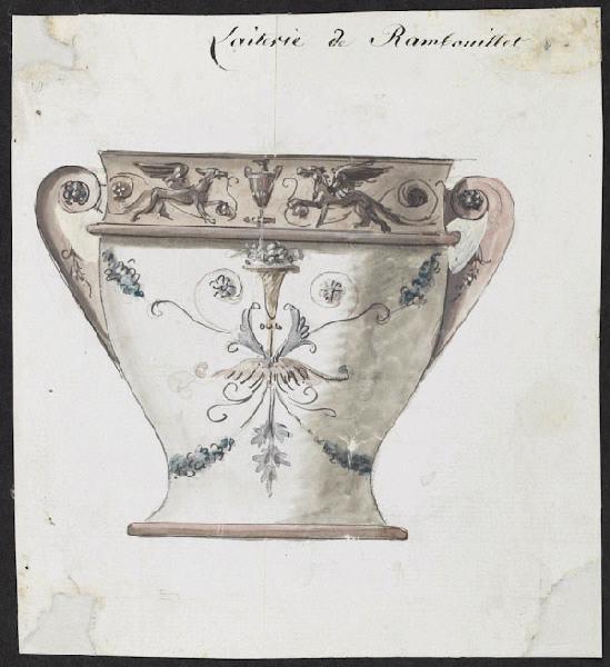 Service de Marie-Antoinette pour Rambouillet en porcelaine de Sèvres M5019019