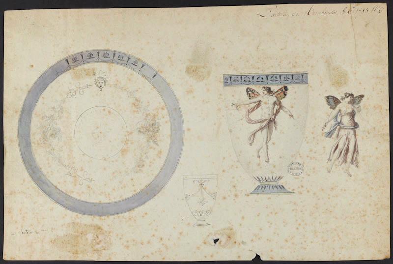 Service de Marie-Antoinette pour Rambouillet en porcelaine de Sèvres M5019021