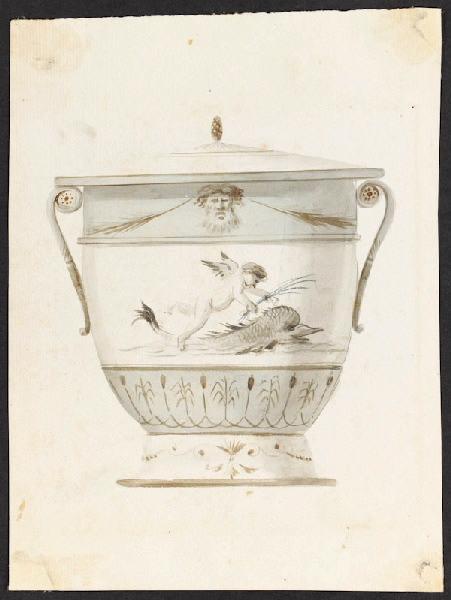 Service de Marie-Antoinette pour Rambouillet en porcelaine de Sèvres M5019022