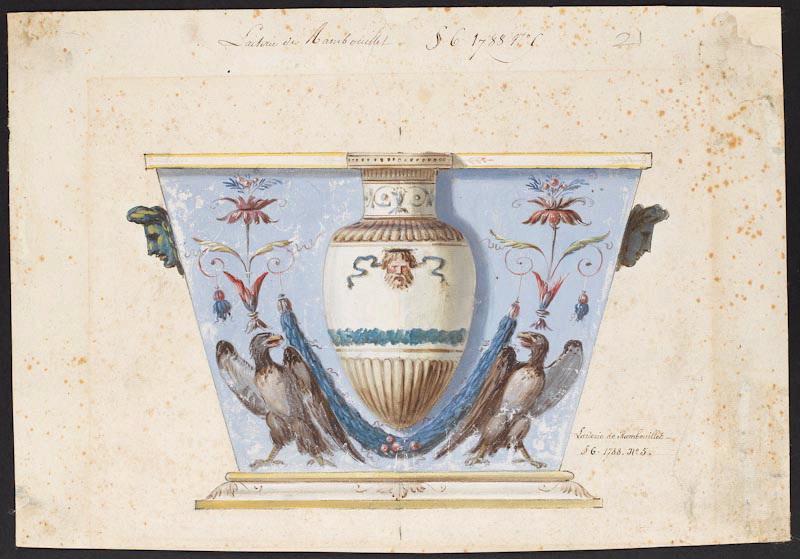 Service de Marie-Antoinette pour Rambouillet en porcelaine de Sèvres M5019026