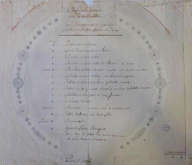 Service de Marie-Antoinette pour Rambouillet en porcelaine de Sèvres M5019027