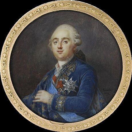 Portraits de Marie-Antoinette et Louis XVI, par Louis-Marie Sicard, dit Sicardi ou Sicardy M5035010