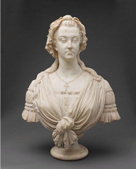 Bustes de Marie-Antoinette par la duchesse Castiglione-Colonna, Adèle d'Affry, dite Marcello Marcel10