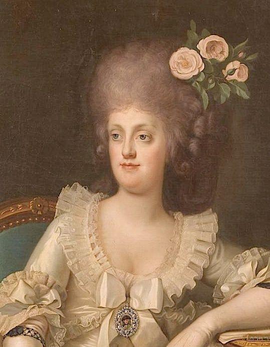 Portraits de Marie Caroline d'Autriche, reine de Naples et de Sicile Maria_20