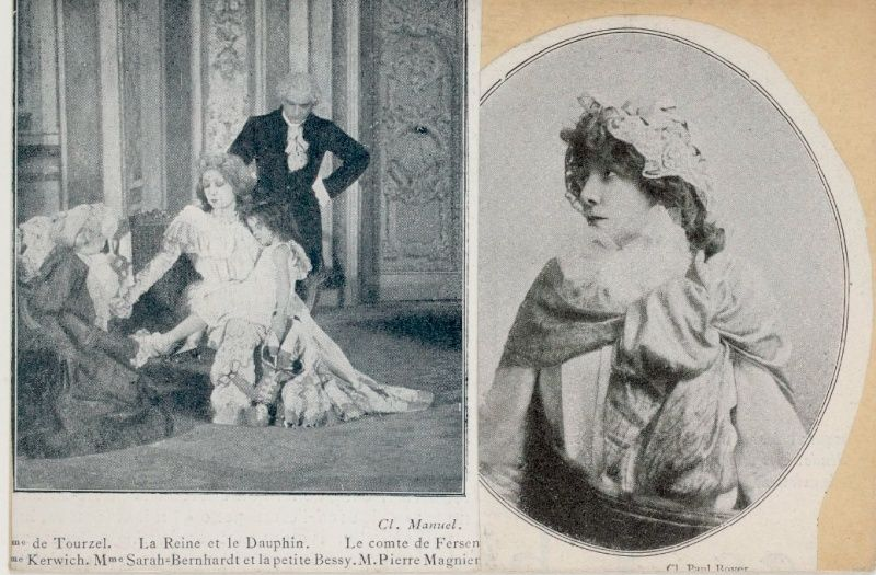 Sarah Bernhardt en Marie-Antoinette Marie114