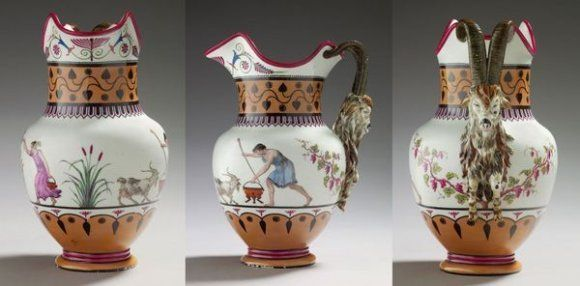 Service de Marie-Antoinette pour Rambouillet en porcelaine de Sèvres Marie137