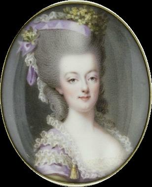 Marie Antoinette, miniatures attribuées à ou d'après François Dumont - Page 2 Marie_14