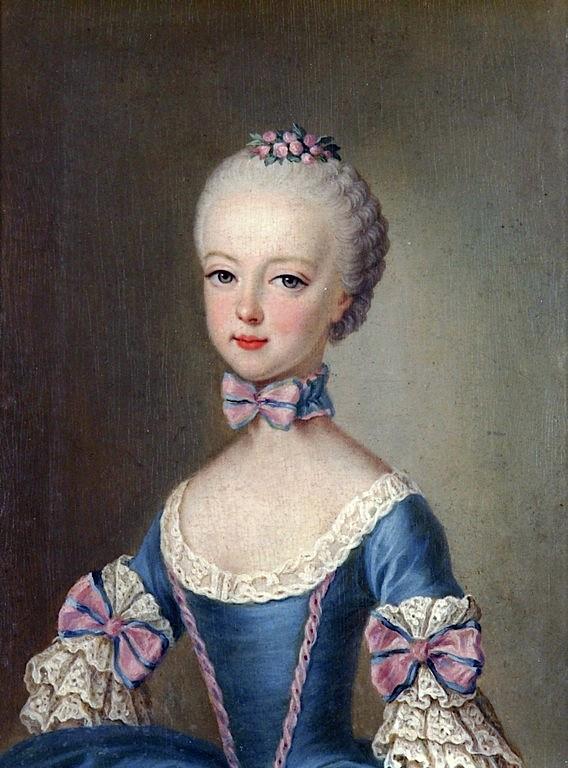Portraits de la famille impériale par Jean-Etienne Liotard - Page 2 Marie_17