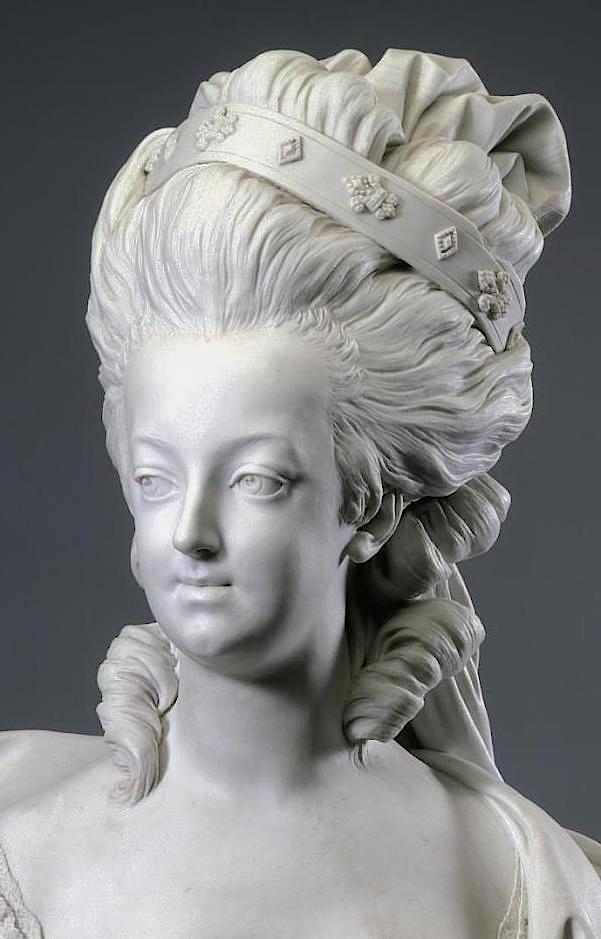 Marie Antoinette, par (et d'après) Louis-Simon Boizot Marie_20