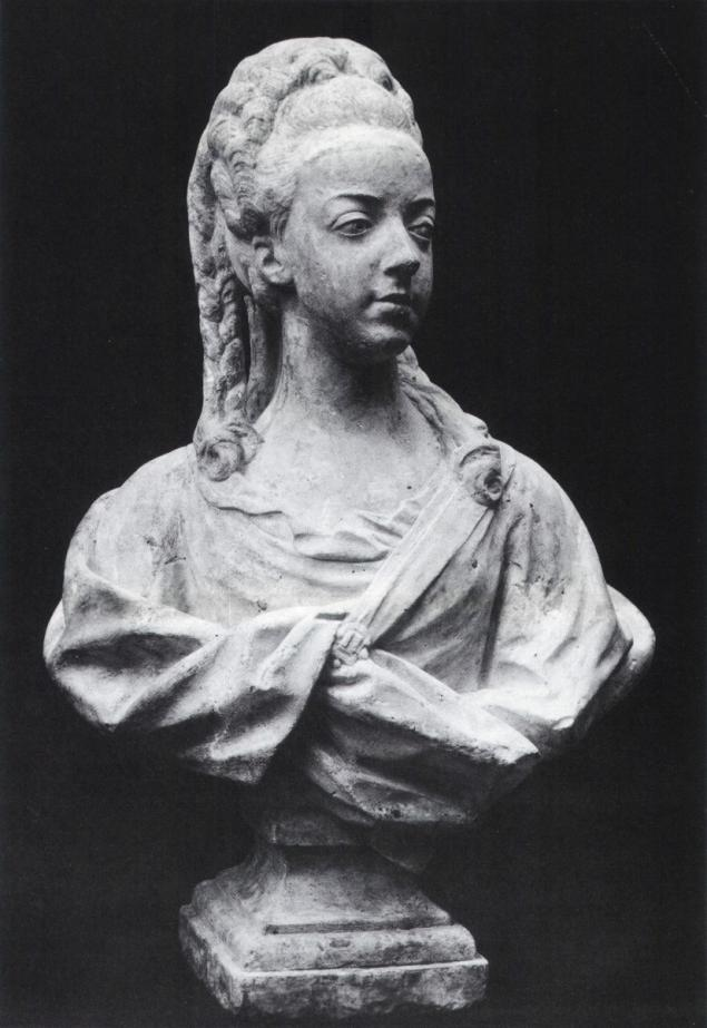 Buste de Marie-Antoinette par Jean-Baptiste Lemoyne Marie_24