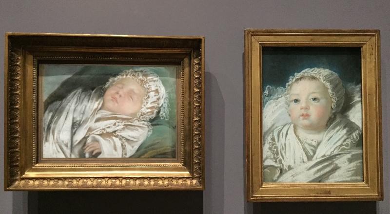 Portraits de la petite Mme Sophie, par Vigée Le Brun, ou pas ? Marie_35