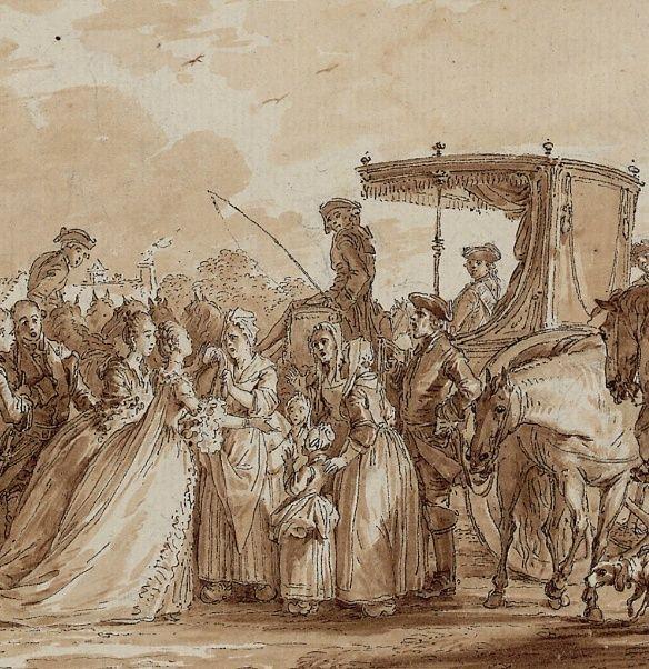 Jean-Michel Moreau le jeune, dessinateur des Menus Plaisirs du roi Marie_37