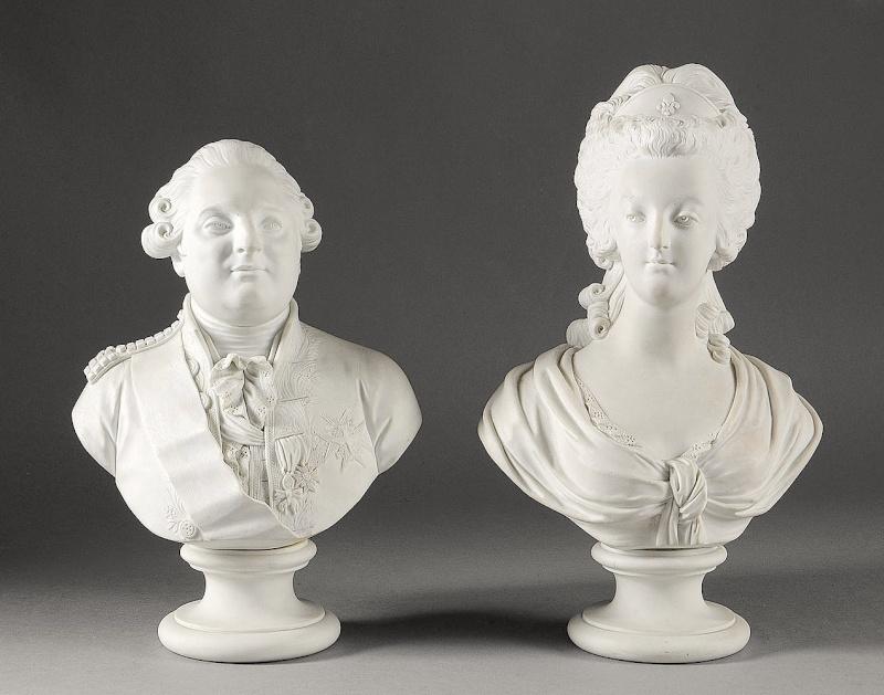 Buste de Marie-Antoinette d'après Brachard (Jean-Charles ou Jean-Nicolas) Marie_40