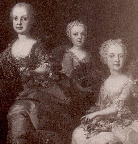 Portraits de Marie-Antoinette au clavecin, par Franz Xaver Wagenschön Marie_71