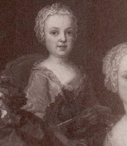 Portraits de Marie-Antoinette au clavecin, par Franz Xaver Wagenschön Marie_72