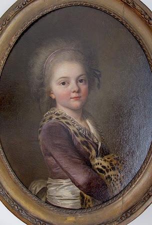Galerie de portraits : Le manchon au XVIIIe siècle  Nancy_10