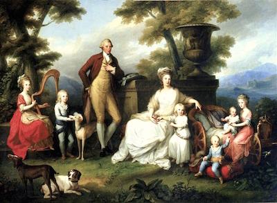 Un beau-frère de Marie-Antoinette :   Ferdinand IV , roi de Sicile Painti12