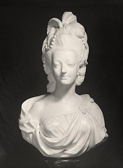 Buste de Marie-Antoinette, Palais Pitti (Florence) Palais12