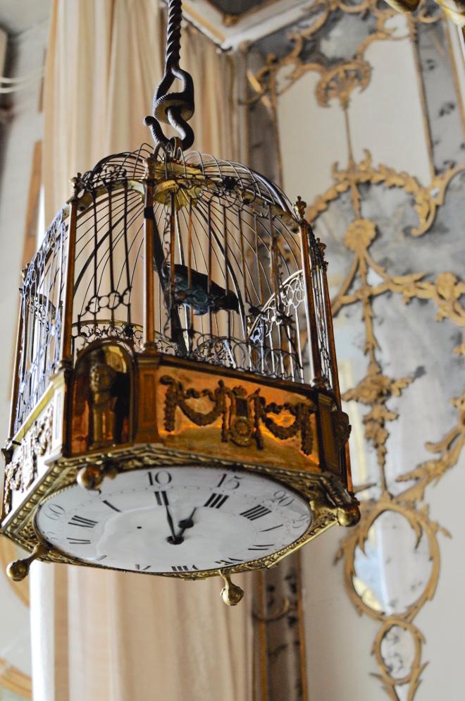 Les pendules cages et oiseaux automates du XVIIIe siècle - Page 2 Pendul12