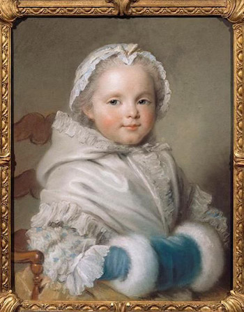 Galerie de portraits : Le manchon au XVIIIe siècle  Pic710