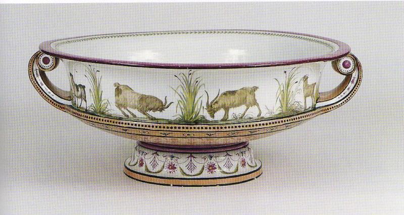Service de Marie-Antoinette pour Rambouillet en porcelaine de Sèvres Porcel10