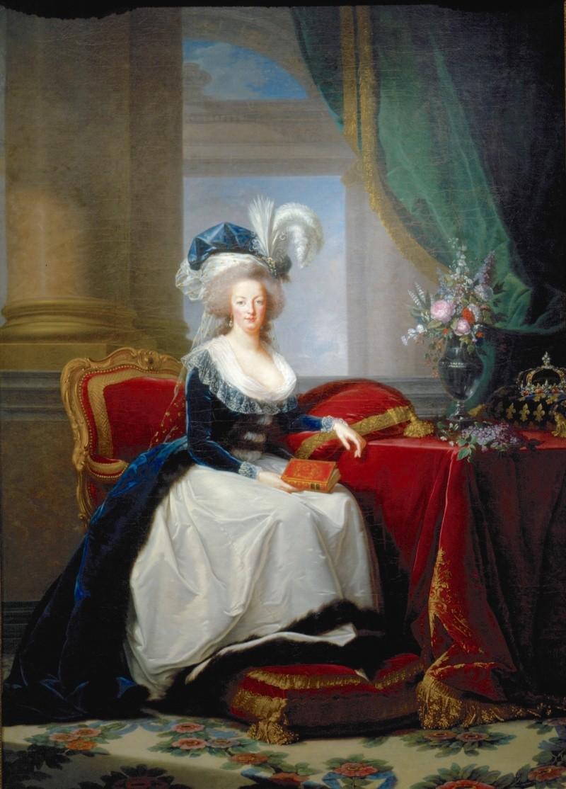 Portraits de Marie-Antoinette au livre, en robe bleue, par Vigée Le Brun (1785 - 1788 ?) - Page 2 Portra10