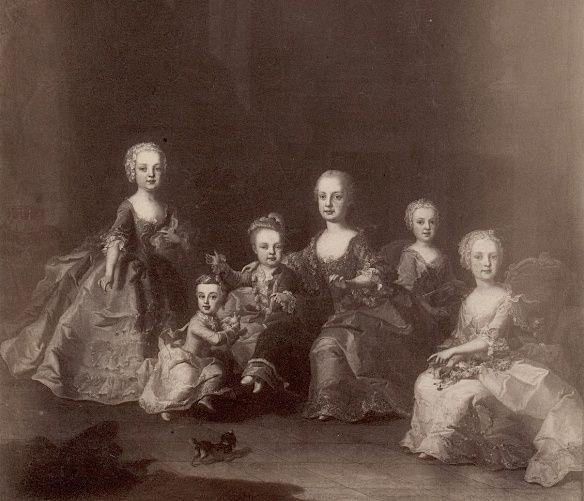 Portraits de Marie-Antoinette au clavecin, par Franz Xaver Wagenschön Portra14