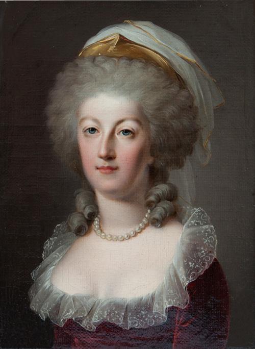 Autres portraits de Marie-Antoinette par Kucharsky Portra20
