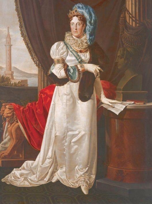Portraits de Marie Caroline d'Autriche, reine de Naples et de Sicile Portra26