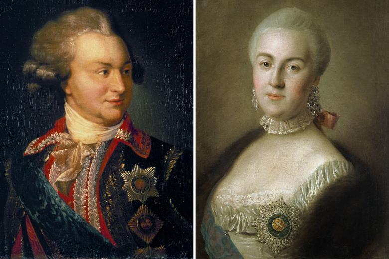 La Grande Catherine et Potemkine, de Simon Sebag Montefiore Potemk10