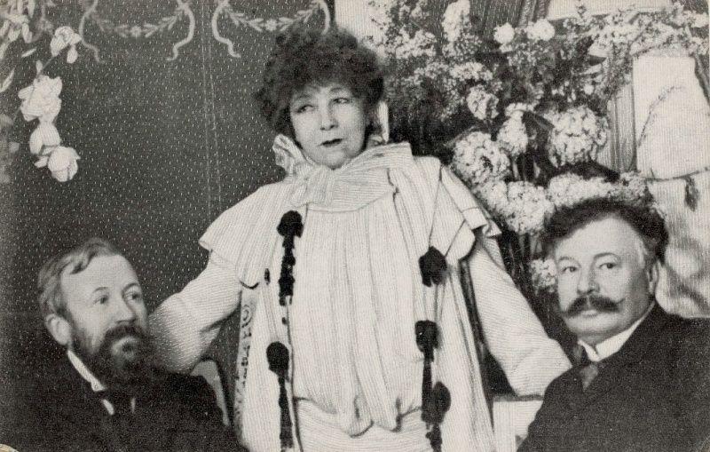 Sarah Bernhardt en Marie-Antoinette Sarah_10