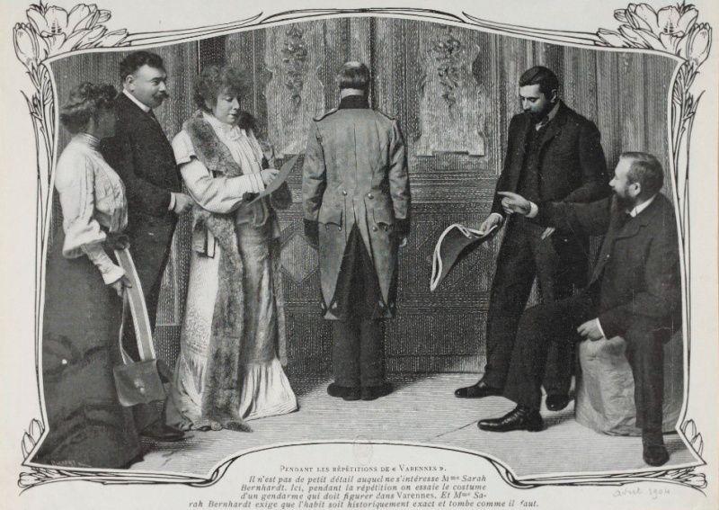 Sarah Bernhardt en Marie-Antoinette Sarah_11