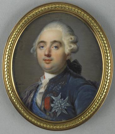 Portraits de Marie-Antoinette et Louis XVI, par Louis-Marie Sicard, dit Sicardi ou Sicardy Sicard12