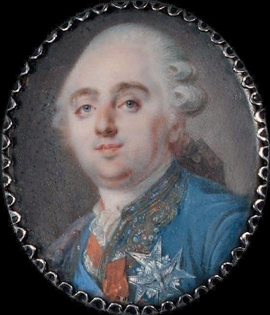 Portraits de Marie-Antoinette et Louis XVI, par Louis-Marie Sicard, dit Sicardi ou Sicardy Sicard14